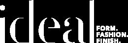 Ideal Logo - White